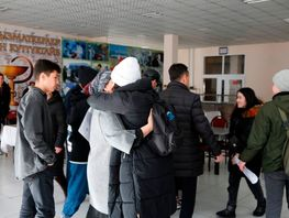 Students arrived from Wuhan discharged from hospital after quarantine