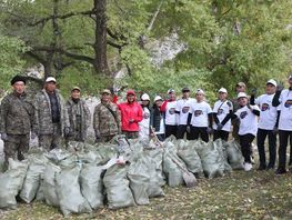 More than 120 bags of garbage collected by volunteers in Alatai nature park